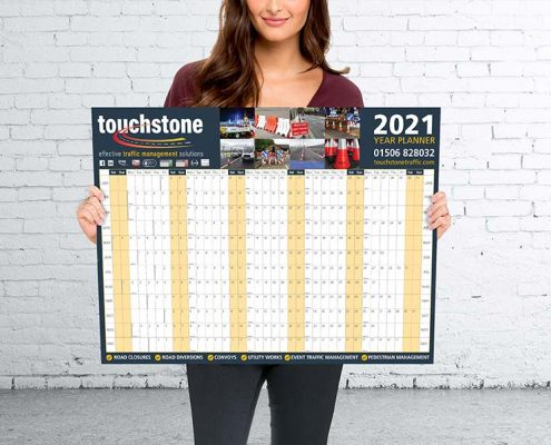 Touchstone Traffic Wall Planner Printing