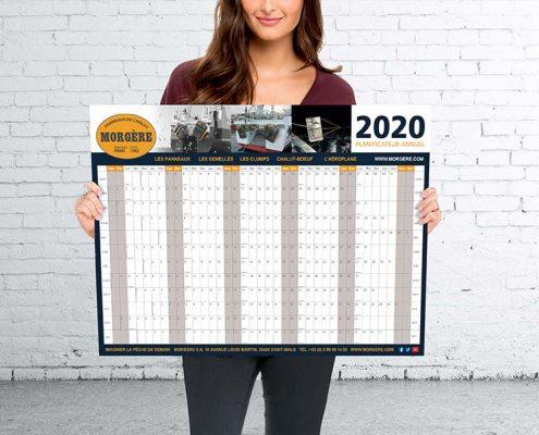 Morgere Wall Calendar Printing